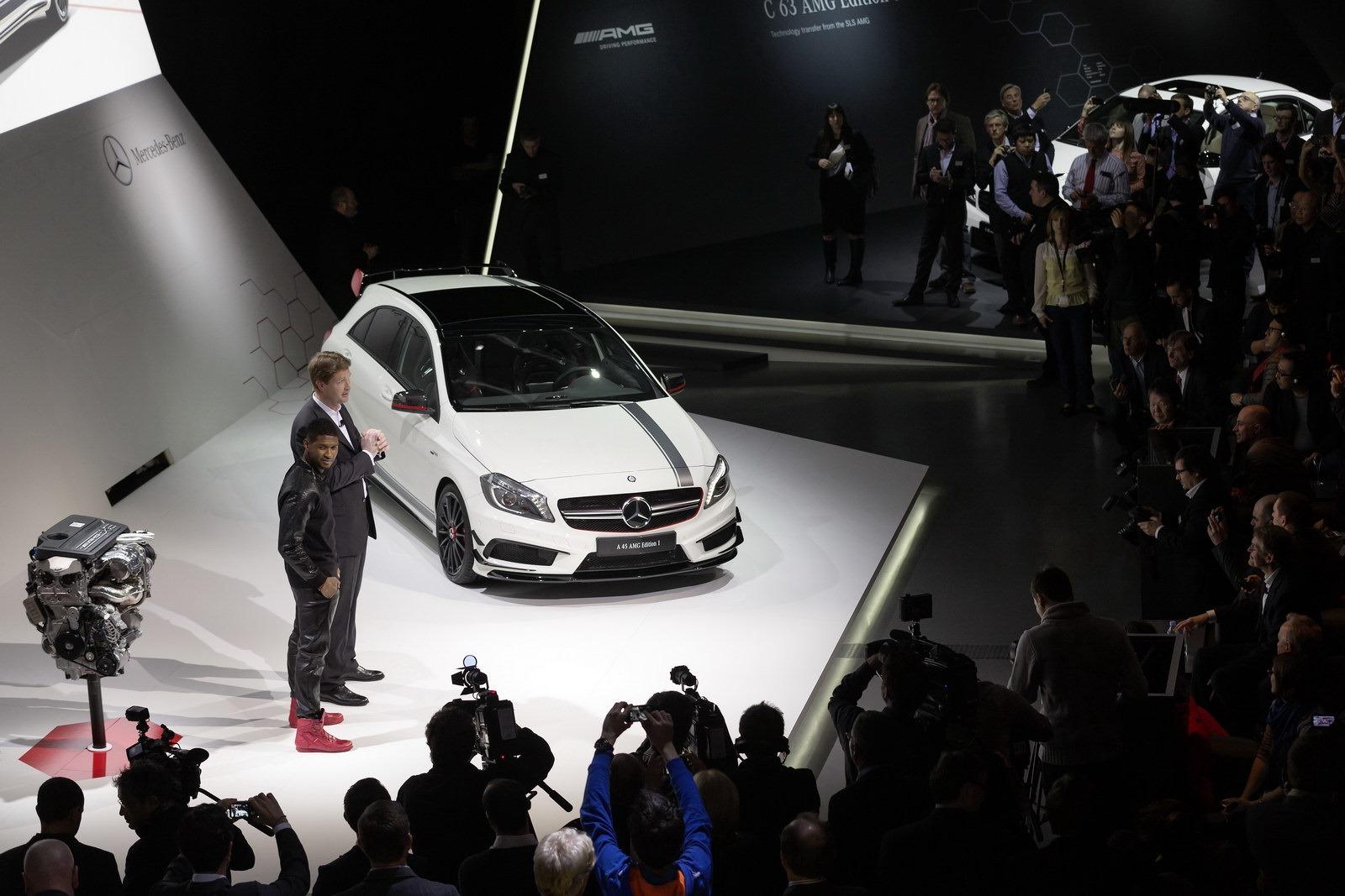 Auto Car Tips New 355hp Mercedes Benz A 45 Amg Bows At The Geneva